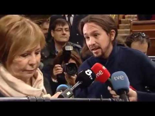 Discusión entre Iglesias y Celia Villalobos