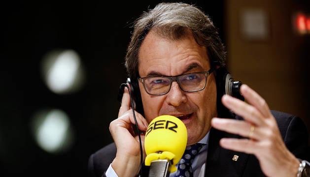 Artur Mas, entrevistado en La Ser.