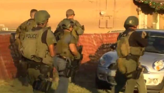 Dos personas armadas matan a 14 personas en California