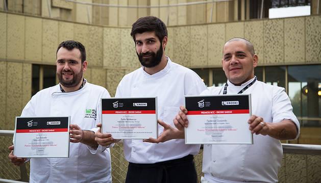 Premio para el chef Luis Salcedo, del restaurante Remigio de Tudela