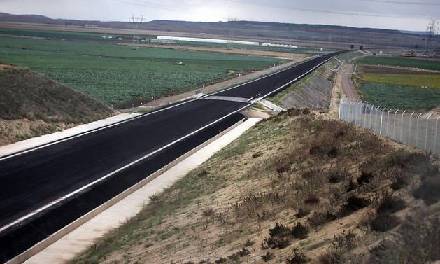 El TAV se para con 14 km construidos de Castejón a Villafranca y un futuro incierto