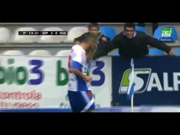 Gol de Yuri a Osasuna (3-0, minuto 65)