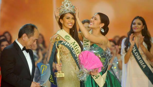 La nueva Miss Tierra vuele a ser filipina: Angelia Ong
