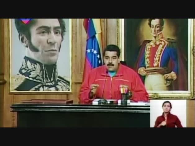 """Maduro reconoce los resultados: """"Ha triunfado la democracia"""""""