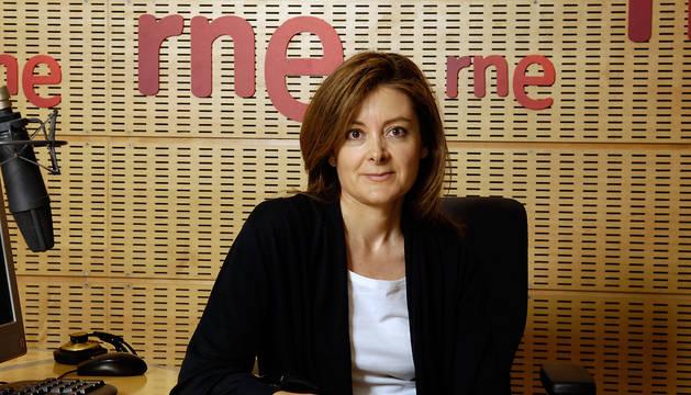 La periodista Pepa Fernández.