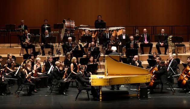 Orquesta Sinfónica de Navarra.