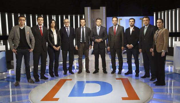 El empleo, Cataluña y la violencia de género centran el debate a nueve