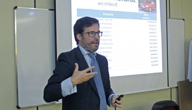 José Galbete, asesor de comercio internacional de ExportArte