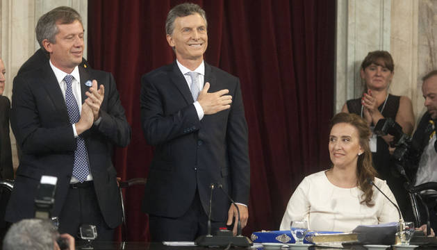 Macri promete trabajar para que todos los argentinos vivan