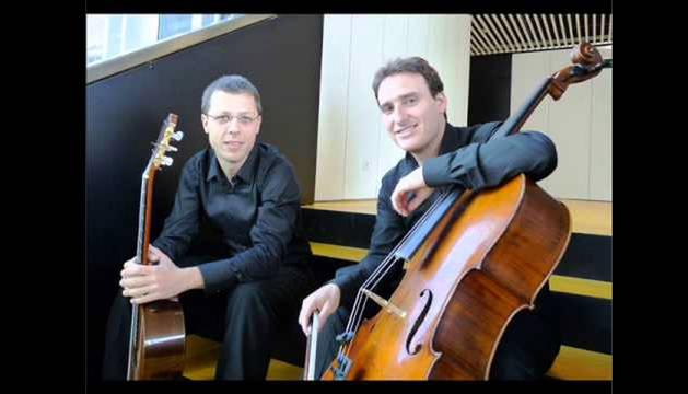 El dúo Arbizu-Halle.