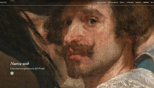 La nueva web de Museo Nacional del Prado.
