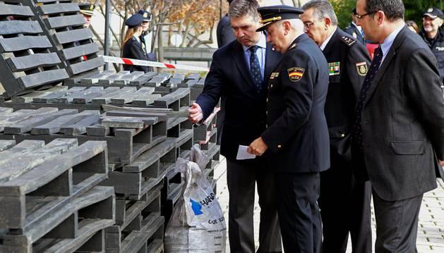 Cae una red que pretendía introducir en España 1.400 kilos de cocaína