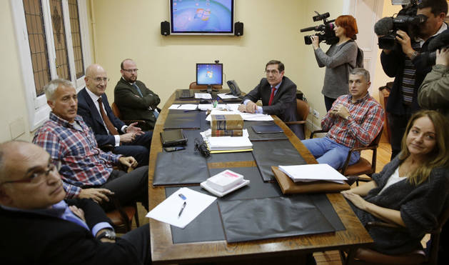Reunión del Tribunal Administrativo del Deporte (TAD) para valorar el recurso presentado por el Real Madrid.
