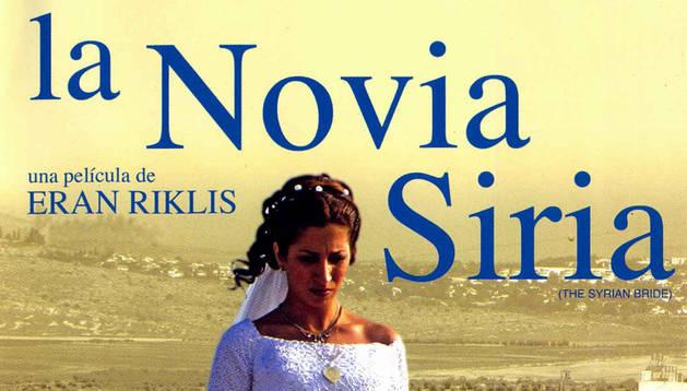 Cartel de 'La novia siria'.