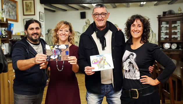 El certamen 'Olentzero en la Ribera' reúne a 600 niños