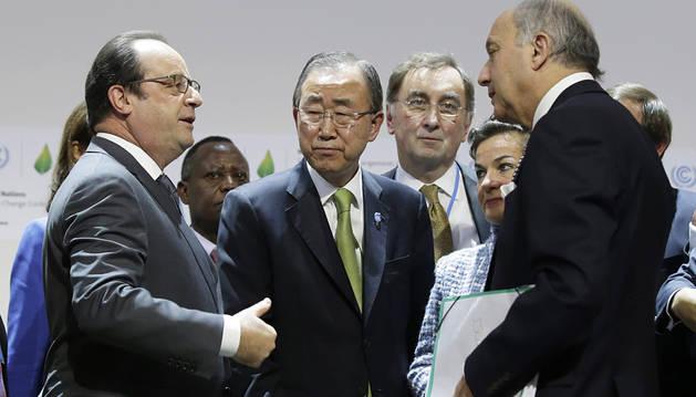 París propone un acuerdo que limitará a 2ºC el calentamiento