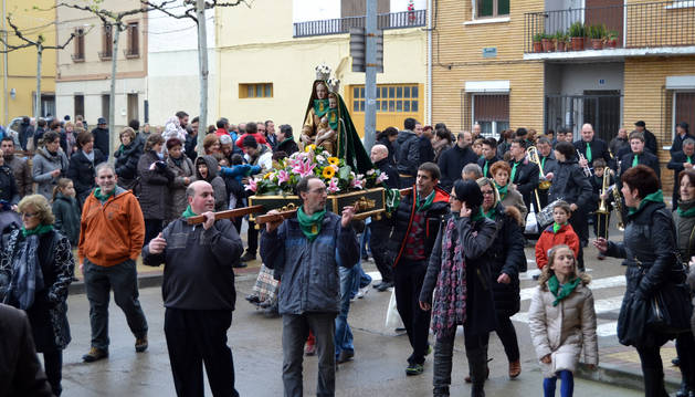 Sartaguda ofrece a la virgen de La Monlora tradición, devoción  y gastronomía