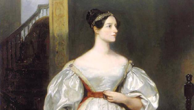 Ada Lovelace, retratada por la pintora británica Margaret Carpenter