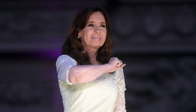 Cristina Fernández espera que no haya