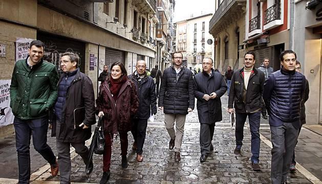 El vicesecretario de Acción Sectorial del PP ha dicho en Pamplona que los derechos históricos de Navarra