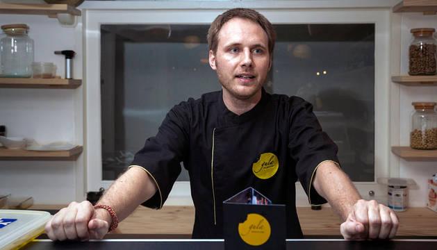 El cocinero Jacobo Astray.