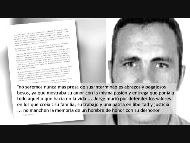 Emotiva carta del hermano de uno de los dos policías muertos en Afganistán