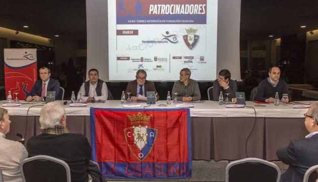 Presentación del XXXIV Torneo Interescolar.