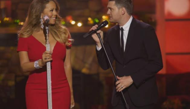 Mariah Carey y Michael Bublé