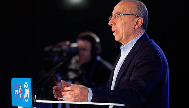 Pérez Lapazarán, en un acto electoral.