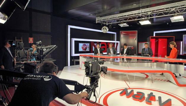 Los seis candidatos al Congreso, mañana en Navarra Televisión