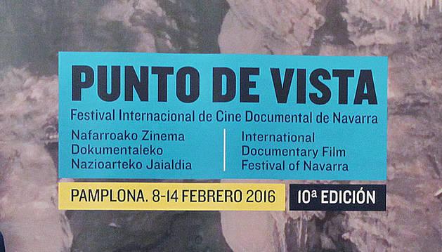 Cartel del Festival Punto de Vista.