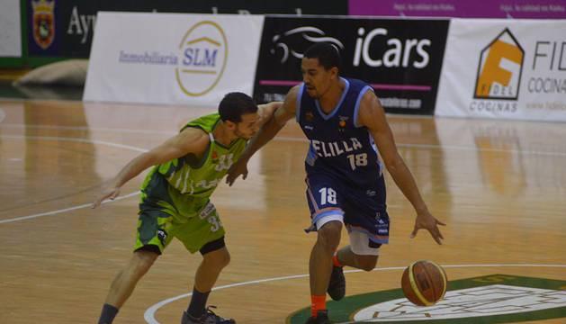 Encuentro correspondiente a la Jornada 13 de la Liga Adecco Oro disputado entre el Planasa Navarra y el Club Baloncesto Melilla disputado en el Pabellón Anaitasuna.
