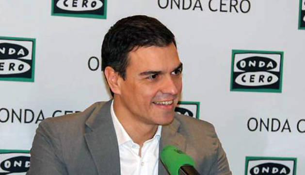 Sánchez, en una entrevista anterior en Onda Cero.