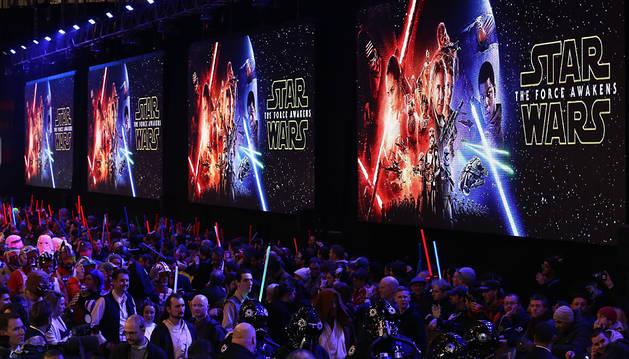 Más de 3.500 personas en Navarra ya tienen  entrada para 'Star Wars''