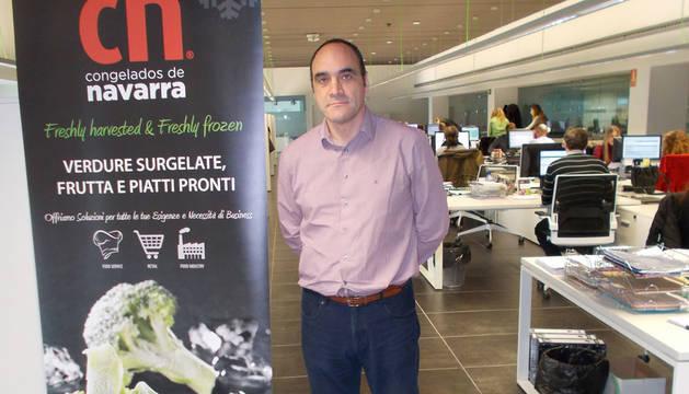 Iñigo Antón, director de Marketing e I+D de Congelados de Navarra