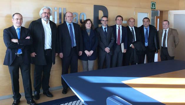 Navarra comercializará mercancías a través del puerto de Bilbao