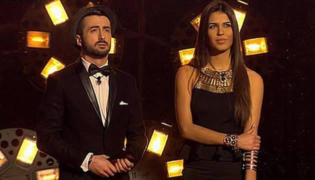 Sofía y Aritz, durante la final de Gran Hermano 16.
