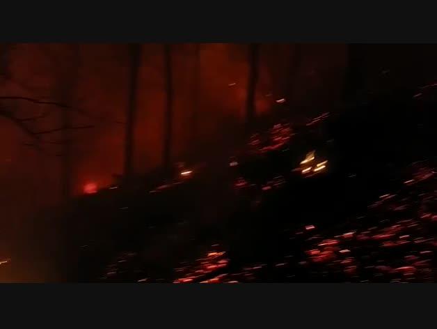 Fuego en Arantza
