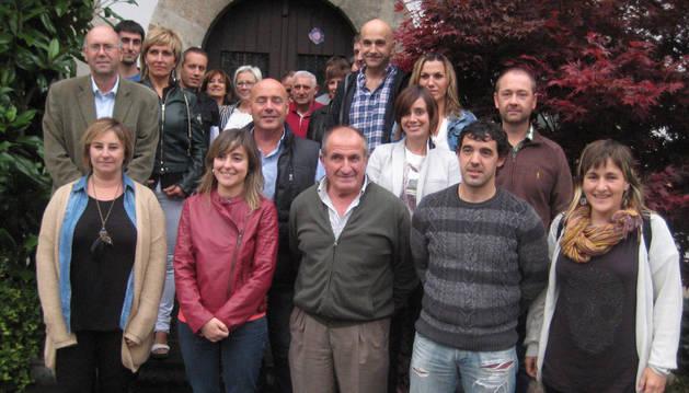 Asamblea constituyente de la nueva legislatura de la asociación Cederna Garalur.