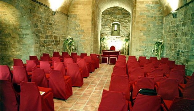 Sala Felipe II donde es celebran los enlaces civiles.