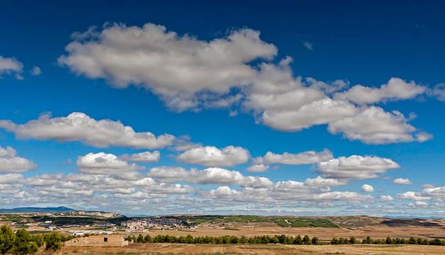Nubes sobre Sesma.