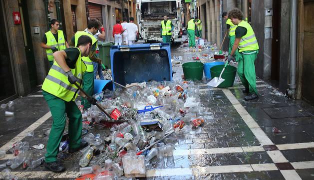 Servicios de limpieza en San Fermín.