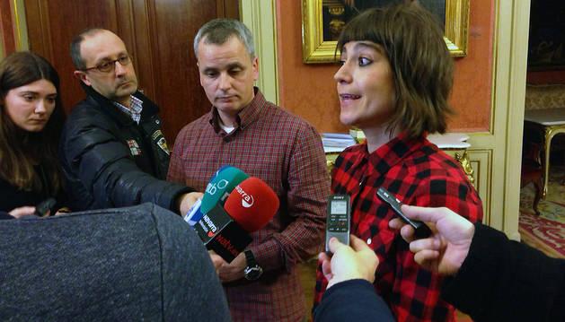 Declaraciones de Maider Beloki