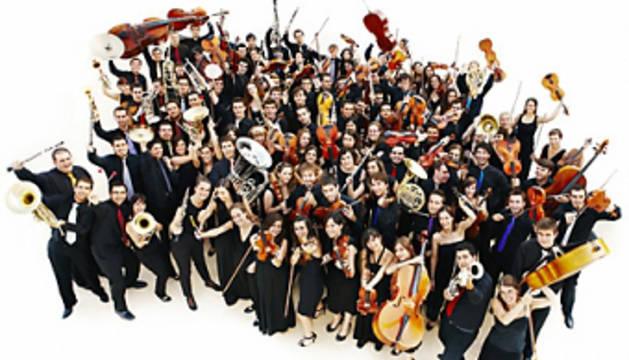 La Joven Orquesta Nacional de España en Baluarte hasta este 11 de enero