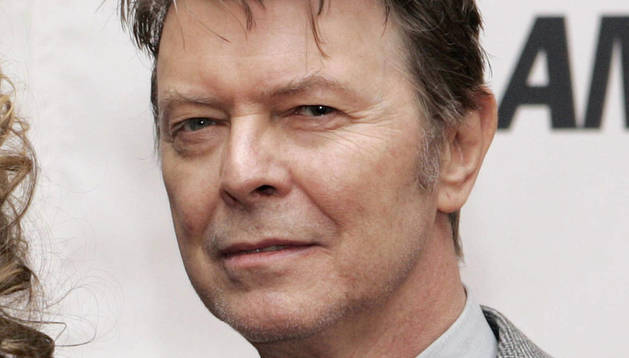 El cantante David Bowie.