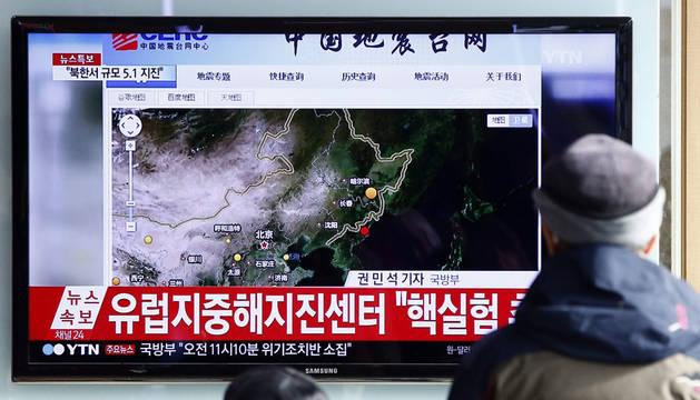 El mundo, alarmado por la prueba nuclear de Corea del Norte