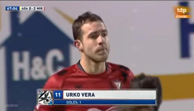 Todos los goles de Urko Vera en la 2014/2015