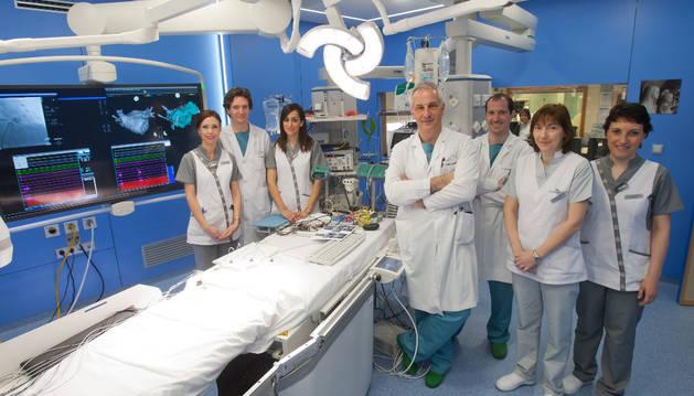 Cristina Díaz, Pablo Ramos, Graciela López, Ignacio García, Gabriel Ballesteros, Encarna Echarte y Ellen Janiashvili.