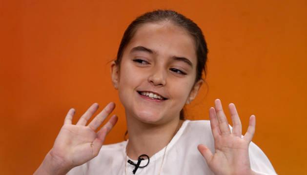 La ganadora de la tercera edición de Masterchef Junior, la madrileña de 11 años María.