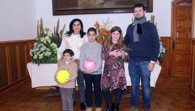 Mateo Yanguas, Marisol Jiménez, Josean Sáez, Claudia Alfaro y Raimundo Aguirre.